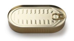 Metal tin Royalty Free Stock Image