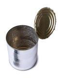 Metal tin five Royalty Free Stock Image