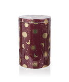 Metal tin kitchen canister royalty free stock image
