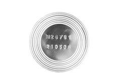 Metal tin macro royalty free stock photos