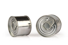 Metal tins Royalty Free Stock Images
