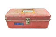 Metal tool box Royalty Free Stock Image