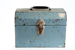 Metal toolbox Royalty Free Stock Images