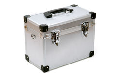 Metal toolbox royalty free stock photo