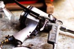 Metal tools Stock Photos