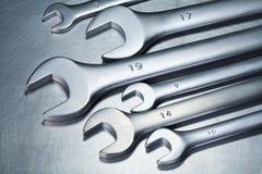 Metal tools Stock Photo