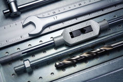 Metal tools Stock Photography