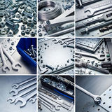 Metal tools Royalty Free Stock Photo