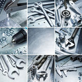 Metal tools Royalty Free Stock Photos