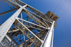 Metal tower. Royalty Free Stock Photography