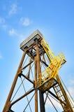 Metal tower close-up Royalty Free Stock Photos