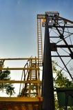 Metal tower close-up Stock Image