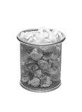 Metal trash Stock Image