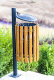 Metal Trash Can Royalty Free Stock Image