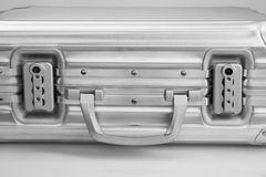 Metal travel case Royalty Free Stock Photos