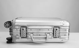 Metal travel case Royalty Free Stock Photo