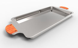 Metal tray Royalty Free Stock Image