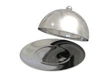 Metal tray with lid Stock Images