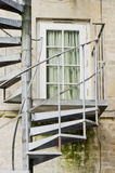 Metal Treppe Stockbild
