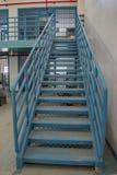 Metal Treppe Lizenzfreies Stockbild