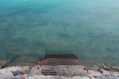 Metal Treppe Stockfoto