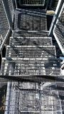 Metal Treppe Stockbilder