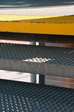 Metal Treppen Lizenzfreies Stockbild