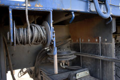 Metal Truck Cable Royalty Free Stock Image
