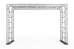 Metal Truss Construction. 3d Rendering Stock Photo