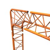 Metal truss girder element Royalty Free Stock Images