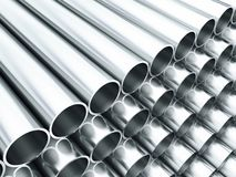 Metal tube Royalty Free Stock Photo