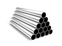 Metal tube Royalty Free Stock Photography