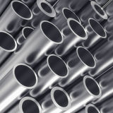 Metal tube Stock Images