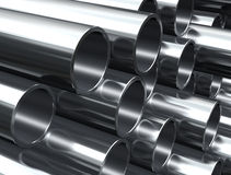 Metal tube Stock Photos