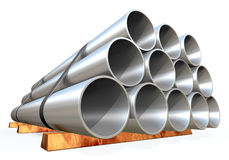 Metal tube Royalty Free Stock Photos