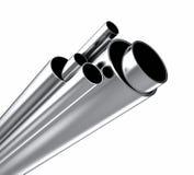 Metal tube Stock Photo