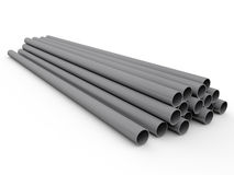 Metal tube Royalty Free Stock Images
