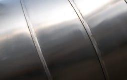 Metal tube texture Stock Image