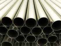 Metal tubes Royalty Free Stock Photo