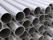 Metal tubk sterty duży zakończenie up ilustracja wektor