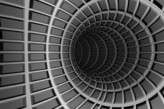 Metal tunnel Stock Images