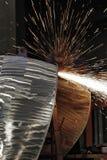 Metal turbine Stock Photography