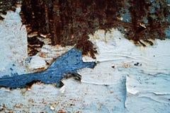 Metal väggen Royaltyfria Bilder