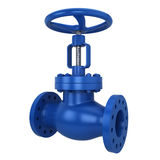 Metal valve Stock Photo