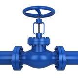 Metal valve Stock Images