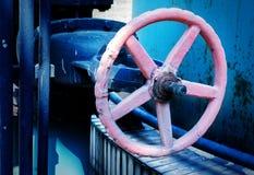 Metal valves Stock Photo