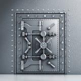 Metal vaulted door Royalty Free Stock Image