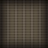 The metal vent grille. Stock Photo
