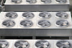 Metal Vents Royalty Free Stock Photo