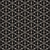 Metal victorian flower pattern Royalty Free Stock Photo